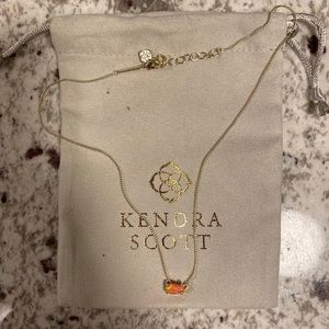 Pink Opal Kendra Scott Necklace